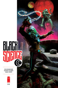 Black Science #1 cover