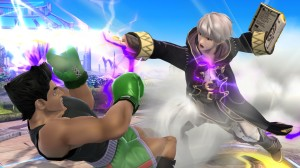 SSB4 Male Robin vs Little Mac