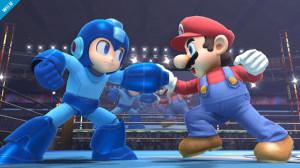 SSB4 Mario VS Megaman