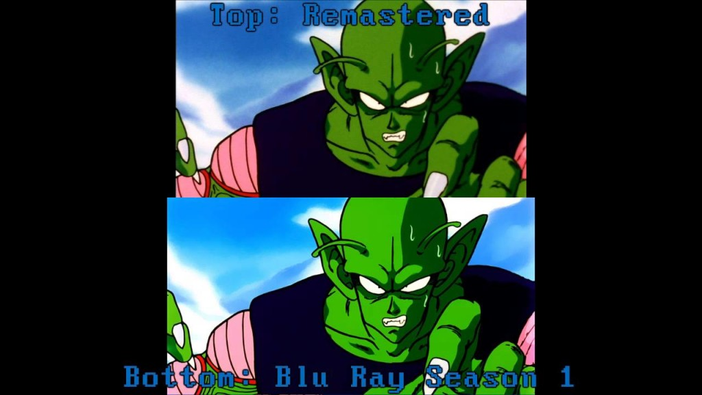 blu ray quality dbz