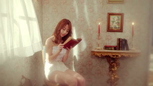 Youngji, partying hard.