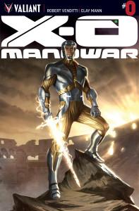 X-O Manowar #0 main cover