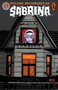 chilling adventures of sabrina #1 cover