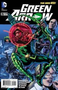 green arrow #35 true cover