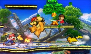 SSB4 Four way free for all