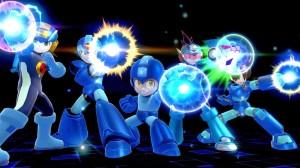 SSB4 Megaman's Team Buster
