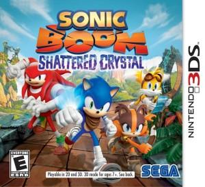Sonic Boom 3DS boxart