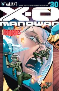 X-O Manowar #30 main cover