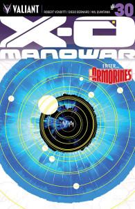 X-O Manowar #30 variant cover