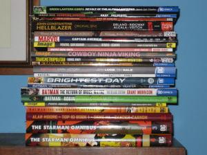 Comic stack