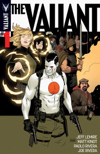 The Valiant #1 cover