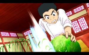 Toriko - Komatsu cooking