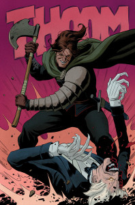 Gilad vs. the Immortal Enemy The Valiant #2