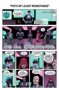 Secret Avengers Maria Hill briefing