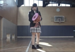 Because no one would ever think a pink shower hat on a basketball would be weird ... in Night Vale.