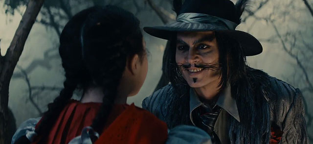 When will we learn that Johnny Depp + heavy make up = disaster?