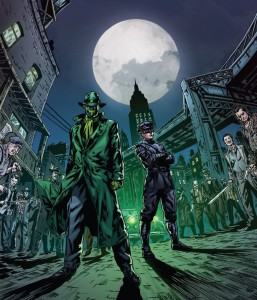 Green Hornet and Kato by Daniel Indro