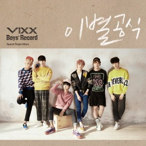 vixx boys' record cover