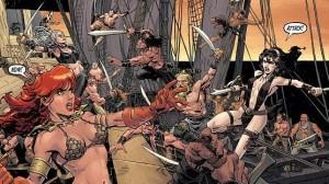 Conan Red Sonja Sea Battle