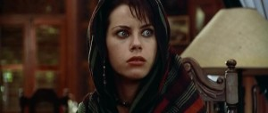 "Pictured - an approximation of Fairuza Balk's reaction when she talked to Brando and realized (in her own words) ""He's just fucking with us!"""