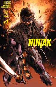 Ninjak #1 cover