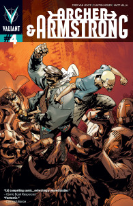 Archer & Armstrong #4 Pearson variant