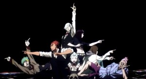 Death Parade OP stills