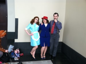 Saw a solid number of Agent Carter cosplays. Haven't watched it yet, but I approve anyway.
