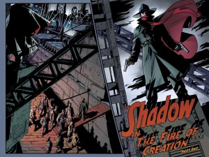 The Shadow #1 spread