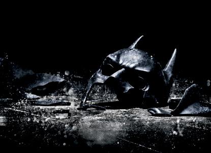 Batman mask broken
