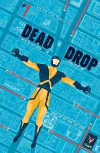 Dead Drop #1 cover