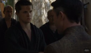 """""""Lancel, it's been a while...you look... ... ...devoutly psychotic."""""""