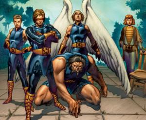 Marvel 1602 X-Men