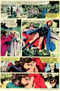 Uncanny X-Men #130 Black Queen illusion