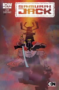 Samurai Jack #20 cover