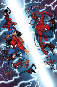 Spider Verse team up cover