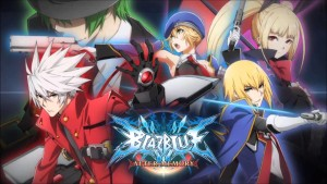 BlazBlue anime poster