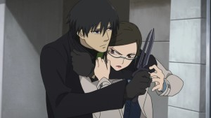 Darker than Black season 2 Hei confronts Misaki