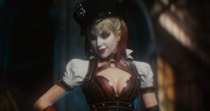 Harley isn't actually in the game all that much, but she's been in the marketing a lot. I wonder why...?