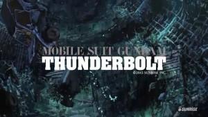 Gundam Thunderbolt Title