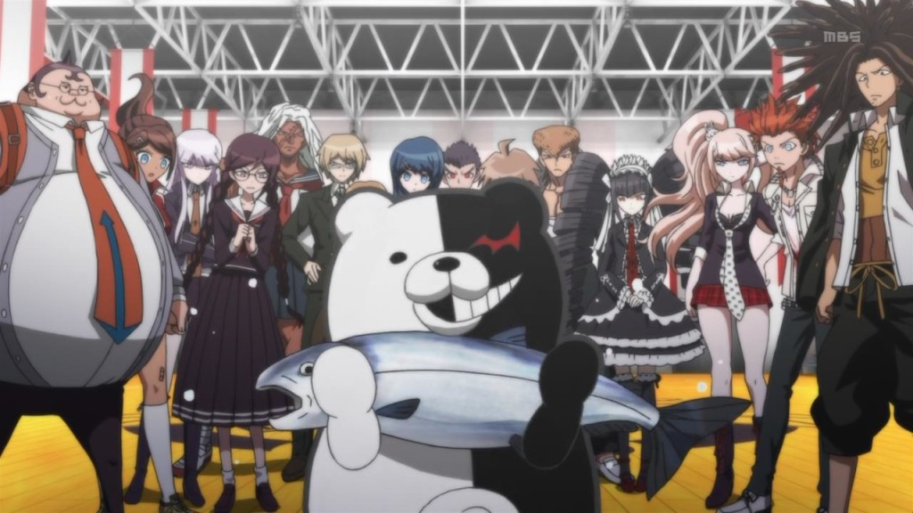 Though, to be fair, Monokuma is annoying no matter whose voice is coming out of him.