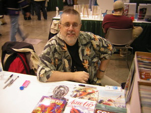 By mentioning innovative storytelling, I'm legally obligated to display a photo of Kurt Busiek.