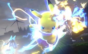 Pikachu Electric God Fist
