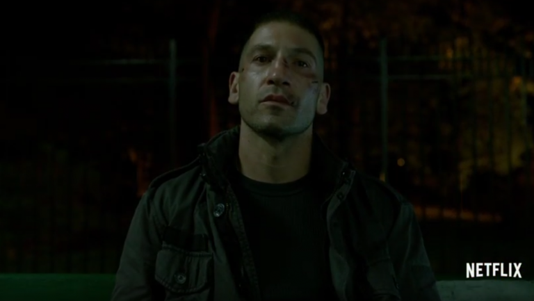 Frank Castle's superpower was being born without a single f**k to give. About anything.