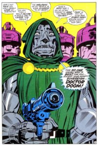 I just wanted to include a picture of Dr. Doom.