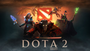Dota 2 splash art