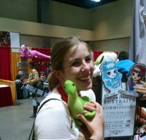 Credit for the photos going to my girlfriend Liz, pictured with our perfect con child - Nessie.