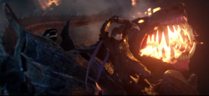ffxv fighting cerberus