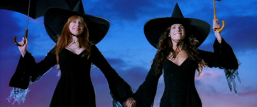And they started the trend of wearing witch costumes ironically