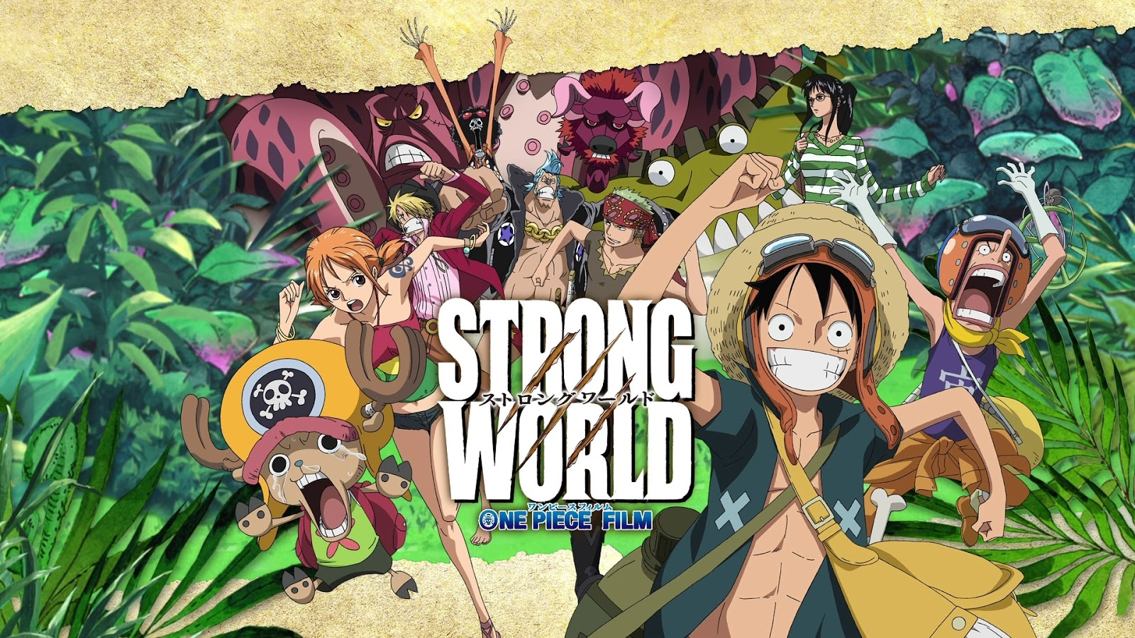 One Piece: Strong World Review | Moar Powah!